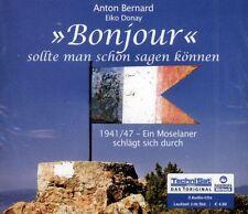 HÖRBUCH-CD-BOX NEU/OVP - Bonjour sollte man schon sagen können - Anton Bernard