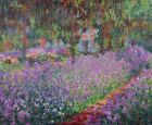 Artists Garden at Giverny Claude Monet Wall Art Print on Canvas Painting Giclee
