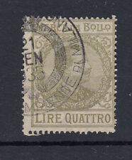 1920-26 MARCHE DA BOLLO TASSA FISSA 5 LIRE USATA 2