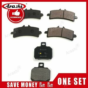 Fit For Ducati 1199 Panigale S Tricolore 2012 2013 Organic Front Rear Brake Pads