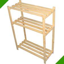 Wooden Shelf Storage Shelf Shoe Shelf for Shoes Folder Rack Office Kitchen #3