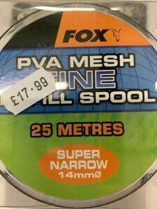 FOX MESH REFILL 14mm SUPER NARROW FINE 25 METRES