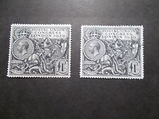 GB 1929 Commemorative Stamps~PUC~£1~Unmounted Mint & VFU SG438~Pair~UK seller