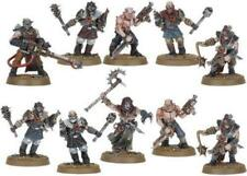 DARK VENGEANCE - CHAOS CULTISTS WITH HEAVY FLAMER AND CAPTAIN NEW ON SPRUE - OOP