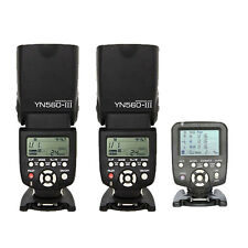 2 Piece Yongnuo YN-560 III Wireless Flash Speedlite + YN560-TX Trigger for Nikon