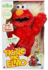 "Official Sesame Street 18"" Tickle Me Elmo Laughs & Giggles childrens cuddly toy"