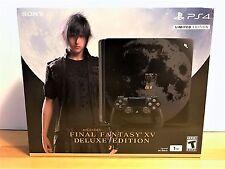 Sony PlayStation 4 Slim Final Fantasy XV Limited Edition Bundle Black 1TB Deluxe
