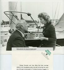 VERA MILES GEORGE KENNEDY A GREAT AMERICAN TRAGEDY ORIGINAL 1972 ABC TV PHOTO