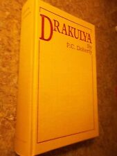 Drakulya by P.C. Doherty 1997 Limited Edition Signed