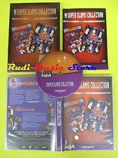 DVD basket SUPER SLAMS COLLECTION La gazzetta dello sport I LOVE NBA no vhs