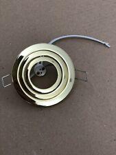 X10 Brass Spotlight Recessed Ceiling Spot Light Downlight LED MR16 Adjustable