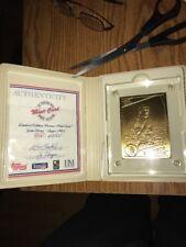 Denver Broncos John Elway Highland Mint Bronze Mint Card