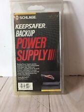 Vintage Schlage KeepSafer Backup Power Supply Model 71-101