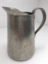 New listing Rare! Vintage Wagner Ware Sidney Aluminum Pitcher Jug 1 Quart Flower Pot 🌺