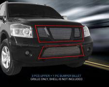 Fits 2008 09 10 11 12 13 14 2015 Nissan Armada Billet Grille Combo Insert Fedar