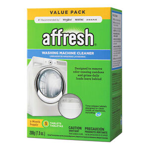 Affresh WASHING MACHINE CLEANER 5-DISSOLVING TABLETS 5-Month Laundry Supplies