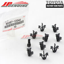 GENUINE OEM TOYOTA GRILLE CLIPS SET OF 10 90467-12040 TACOMA RAV4 4RUNNER