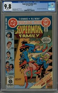 SUPERMAN FAMILY #215 CGC 9.8 WHITE PAGES 1982