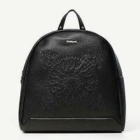 Borsa Desigual borse borsette zaino nero backpack soft bandana venice 19WAKP28