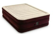 "20"" Queen Dura-Beam Extra Raised Airbed Mattress with Internal Pump Intex"