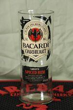 BACARDI Oak Heart Spice Rum Glas aus Original Flasche .750 Liter