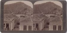 Panorama d'Argos GRECE Greece Photo Stereo Stereoview Vintage