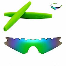 Polarized Emerald Replacement Vented+ Green Earsocks For Oakley M Frame Sweep