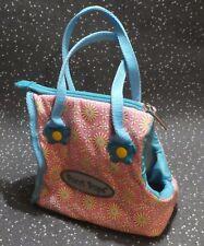 Pucci Pups accessoires rose/turquoise sac zip haut avec deux poignées
