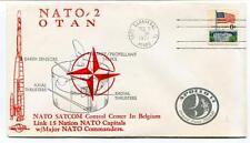 1971 NATO-2 OTAN NATO SATCOM Control Center Belgium Cape Canaveral USA SAT
