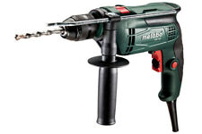 New Metabo SBE650/2 240v 650w Single Speed Hammer Impact Drill Quick Action