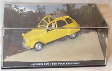James Bond Citroen 2CV For your eyes only  New in sealed pack
