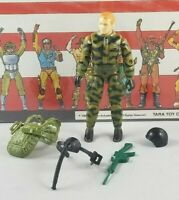 Original 1984 GI JOE RIP CORD V1 ARAH Complete UNBROKEN figure TIGHT