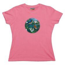 Eastern Bluebirds Blue Birds Thrush Women's Novelty T-Shirt
