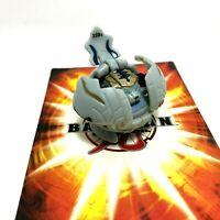 Bakugan Tigrerra 350G Gray Haos Battle Brawlers Classic B1 & 2 Cards