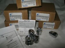 New OEM GM Alloy Wheel Locking Lug Nuts & Key Set of 4 Riviera Cadillac Grand Am