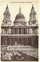 EARLY 1900's VINTAGE St. PAUL'S CATHEDRAL, LONDON POSTCARD - UNUSED