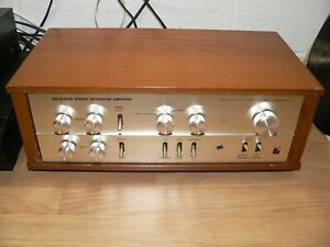 LUXMAN SQ707 Integrated Stereo Amplifier (c. 1970)
