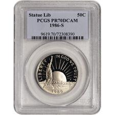 1986 S US Statue of Liberty Commemorative Proof Half Dollar 50C - PCGS PR70 DCAM