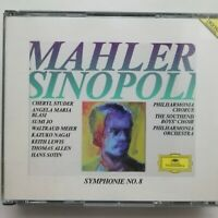 Mahler: Symphony No. 8 / Studer / Sinopoli etc. / DG 2 CD box 435 433-2