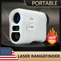 6.5X Magnification 650Yards GOLF LASER RANGE FINDER Automatic Scan Measurer NEW