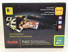 Kodak P461 Personal Photo Scanner Scan & Share No PC Required New Open Box