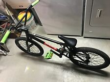 freestyle black mens bicycle green handrails supreme