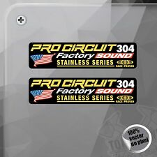 PEGATINA PRO CIRCUIT 304 FACTORY SOUND DECAL STICKER AUFKLEBER AUTOCOLLANT