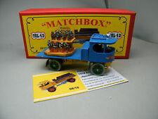Matchbox MoY Code 2 YGL-42 Atkinson Spedition Pritsche + Ladung rote Box 1 von 9