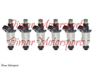 505cc 48lb Performance Upgrade 3000GT VR-4 Turbocharged 3.0L V6 Fuel Injectors