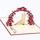 3D Christmas Handmade Pop Up  Wedding Birthday Invitations Greeting Cards