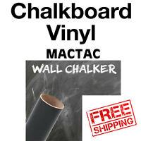 "wall sticker decal-indoor//outdoor-blackboard 3 sheets-12/""x24/"" Chalkboard Vinyl"