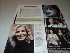 J198 OPHELIE WINTER JEAN-PAUL BELMONDO '2007 BELGIAN CLIPPING