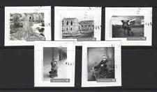 CANADA 2017 CANADIAN PHOTOGRAPHY SET OF 5 SELF ADHESIVE FINE USED