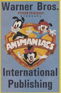 ANIMANIACS FIRST COMIC BOOK LIMITED NUMBER WARNER BROS  PUBLISHING PROMOTIONAL